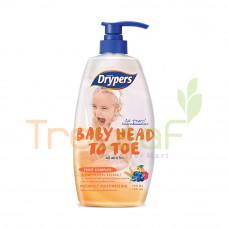 DRYPERS BABY HEAD TO TOE FRUIT COMPLEX (750ML)